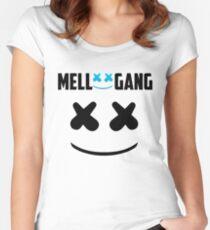 MARSHMELLO (MELLO GANG) Women's Fitted Scoop T-Shirt