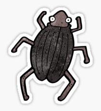 cartoon bug Sticker
