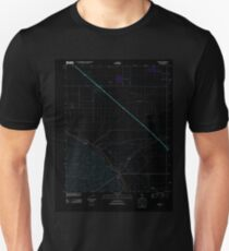 USGS TOPO Map California CA Tupman 20120427 TM geo Inverted T-Shirt