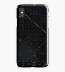 USGS TOPO Map California CA Tupman 20120427 TM geo Inverted iPhone Case
