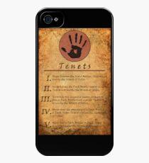 The Elder Scrolls V: Skyrim - Dark Brotherhood Tenents iPhone 4s/4 Case