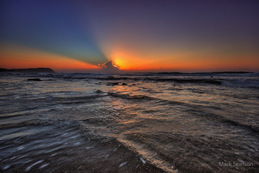 Merewether Sunrise 2 by Mark Snelson