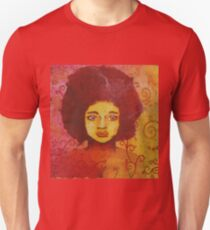 Stained-glass woman Unisex T-Shirt
