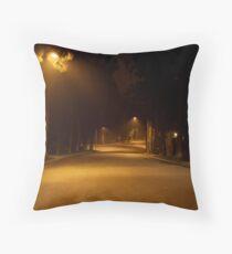 Late night, Beverley Hills, CA Throw Pillow
