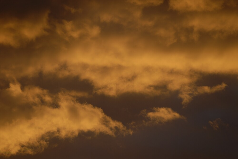 Cloudy Sunset by Russell Hammond