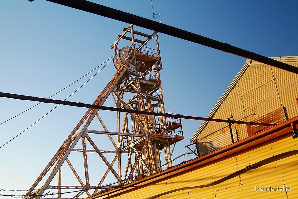 Poppet Head, Broken Hill,N.S.W. by Joe Mortelliti