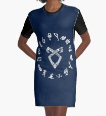 shadowhunters Graphic T-Shirt Dress