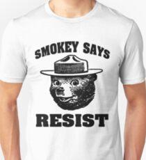 "Smokey Says""Resist"" Unisex T-Shirt"