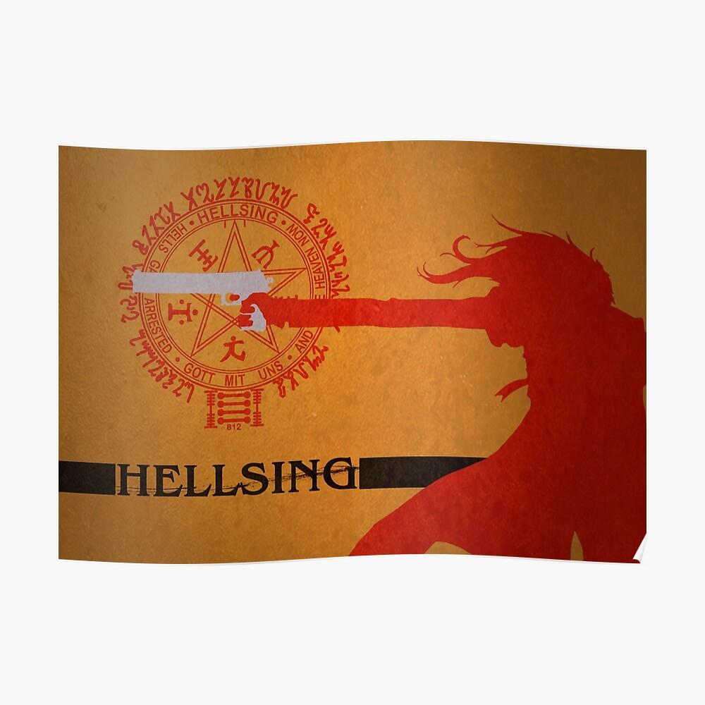 Hellsing Ultimate - Alucard Póster