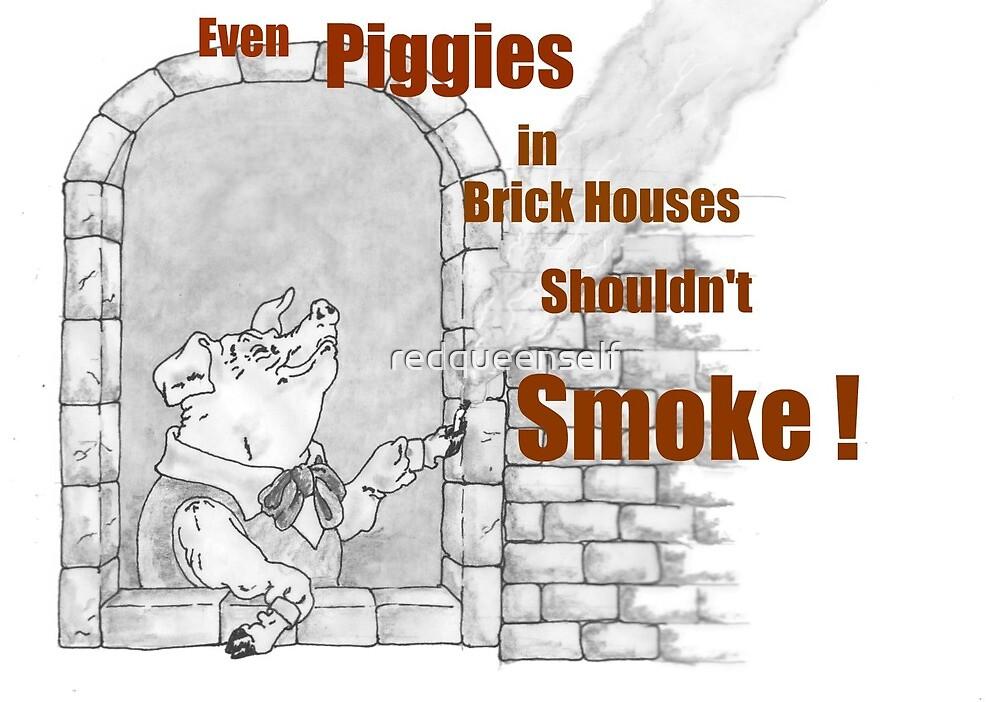 Even Piggies In Brick Houses... by redqueenself