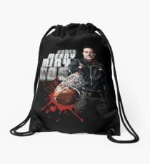 The Walking Dead - Negan (black) Drawstring Bag
