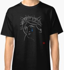 Statue Of Liberty tears Classic T-Shirt