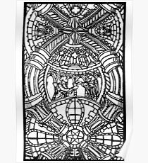 Romanesque panarama Poster