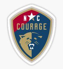 NC Courage Sticker