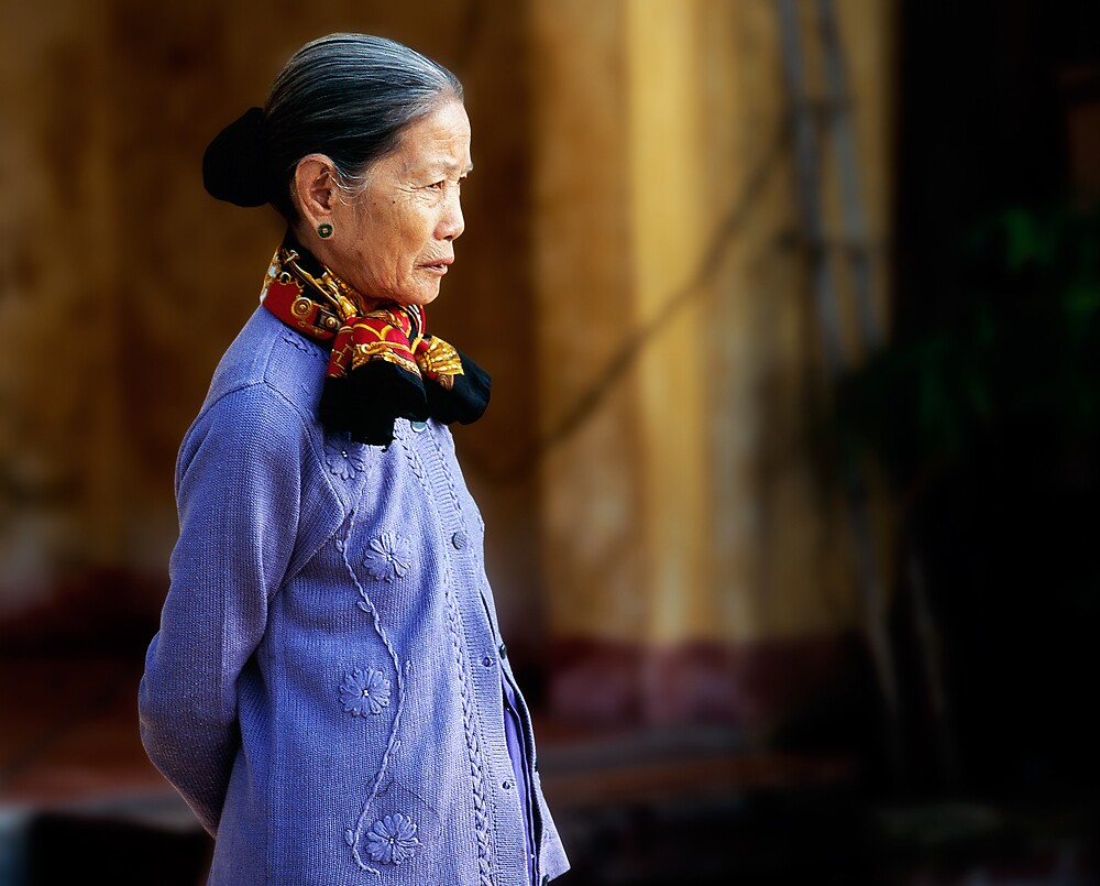 Hoi An portrait by Anthony Begovic