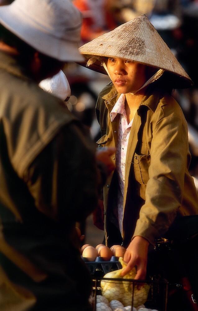 Hanoi street scene by Anthony Begovic