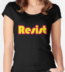resist Women's Fitted Scoop T-Shirt