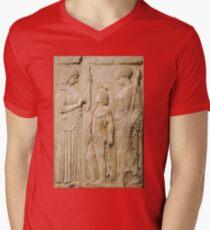 Persephone and Demeter - goddess of agricultural abundance Mens V-Neck T-Shirt