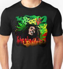Reggae Rasta Colors Fun and Marijuana T-Shirt