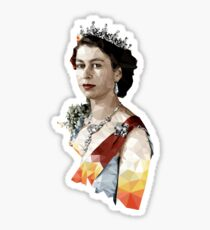 The Queen Sticker
