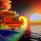 Beautiful Sunset by Brian Exton