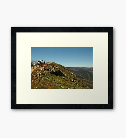 Perched,Blue Rag Range,Victorian High Country Framed Print