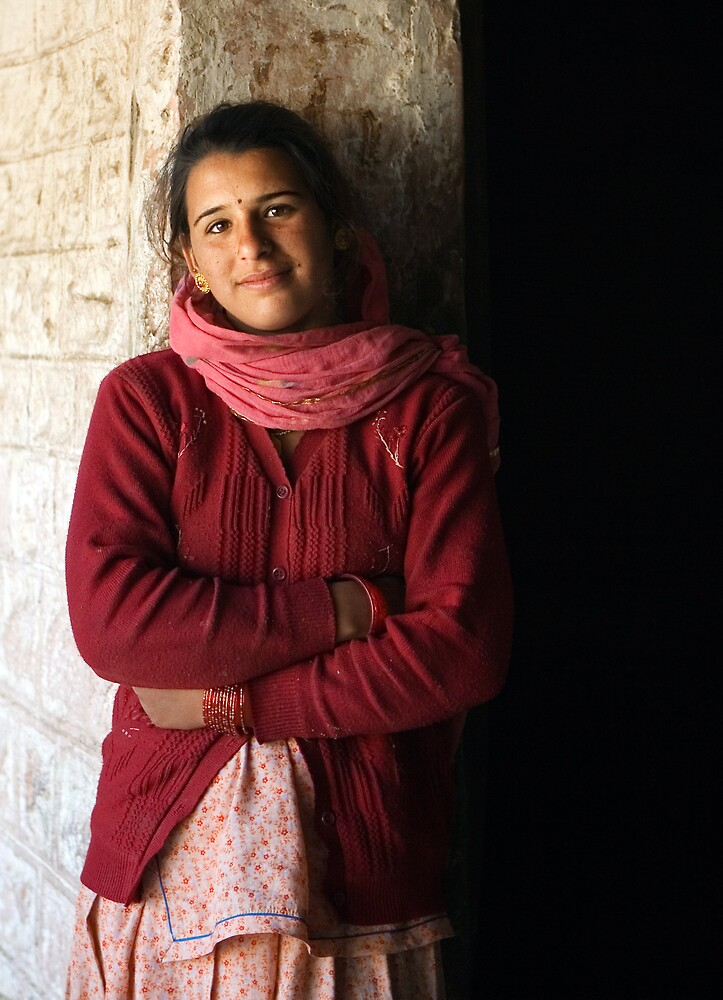 Bishnoi Teen Girl by Anthony Begovic