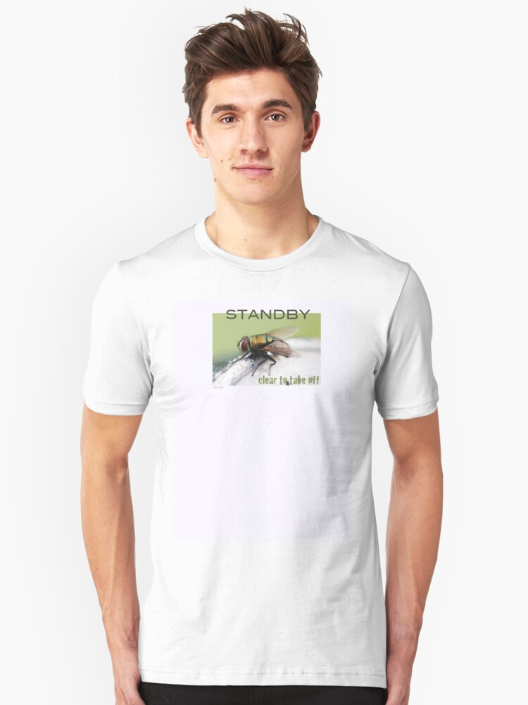 F L Y - Clearance to fly Unisex T-Shirt Front