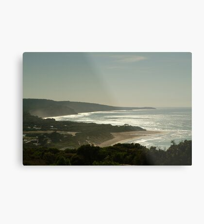 Harsh Light Anglesea,Great Ocean Road Metal Print