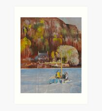 Dittisham Ferry Art Print