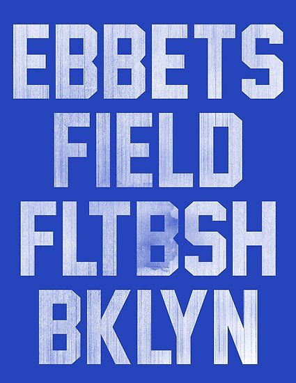 «Ebbets Field - Brooklyn» de pollylopsicle