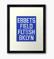 Ebbets Field - Brooklyn Framed Print