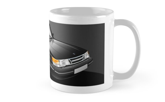 Saab 900 Turbo Mug wrap Mug