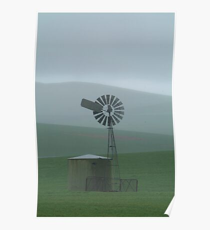 Rain Storm, Southern Flinders Ranges Poster