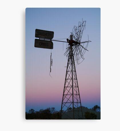 Windmill, Mt Dare Station,Outback Australia Canvas Print
