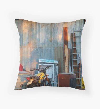 By The Shed,Outback S.A. Throw Pillow