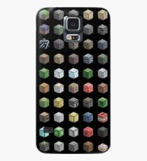 100 Minecraft Blocks Case/Skin for Samsung Galaxy