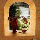 Duoscopic Self-Portrait III by Jósean Figueroa