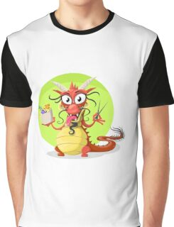 Funny chinese dragon Graphic T-Shirt