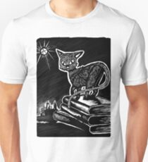 Black Cat of Anarchy Unisex T-Shirt