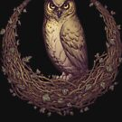 Owl Hedera Moon by Medusa Dollmaker