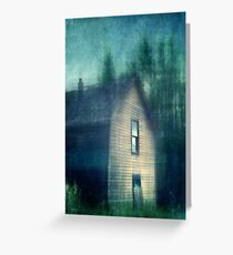Hauntend by the past Greeting Card