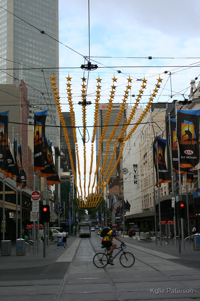 Bourke St Mall Melbourne by Kylie Paterson