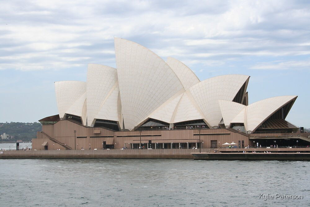 Opera House Sydney 2 by Kylie Paterson