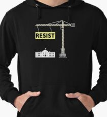 Anti Oil Pipeline Resist Trump at White House Lightweight Hoodie