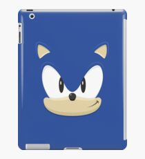Sonic the hedgehog face iPad Case/Skin