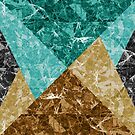Marble Geometric Background G426 by MEDUSA GraphicART