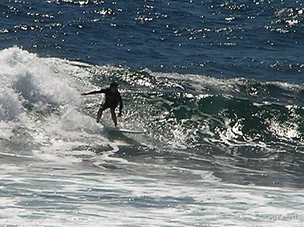 Surfer at Margret River by Stacey Kellett
