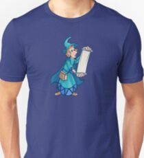 Magician reading scroll T-Shirt