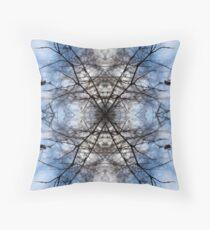 Saturnalian Structure #1 Throw Pillow